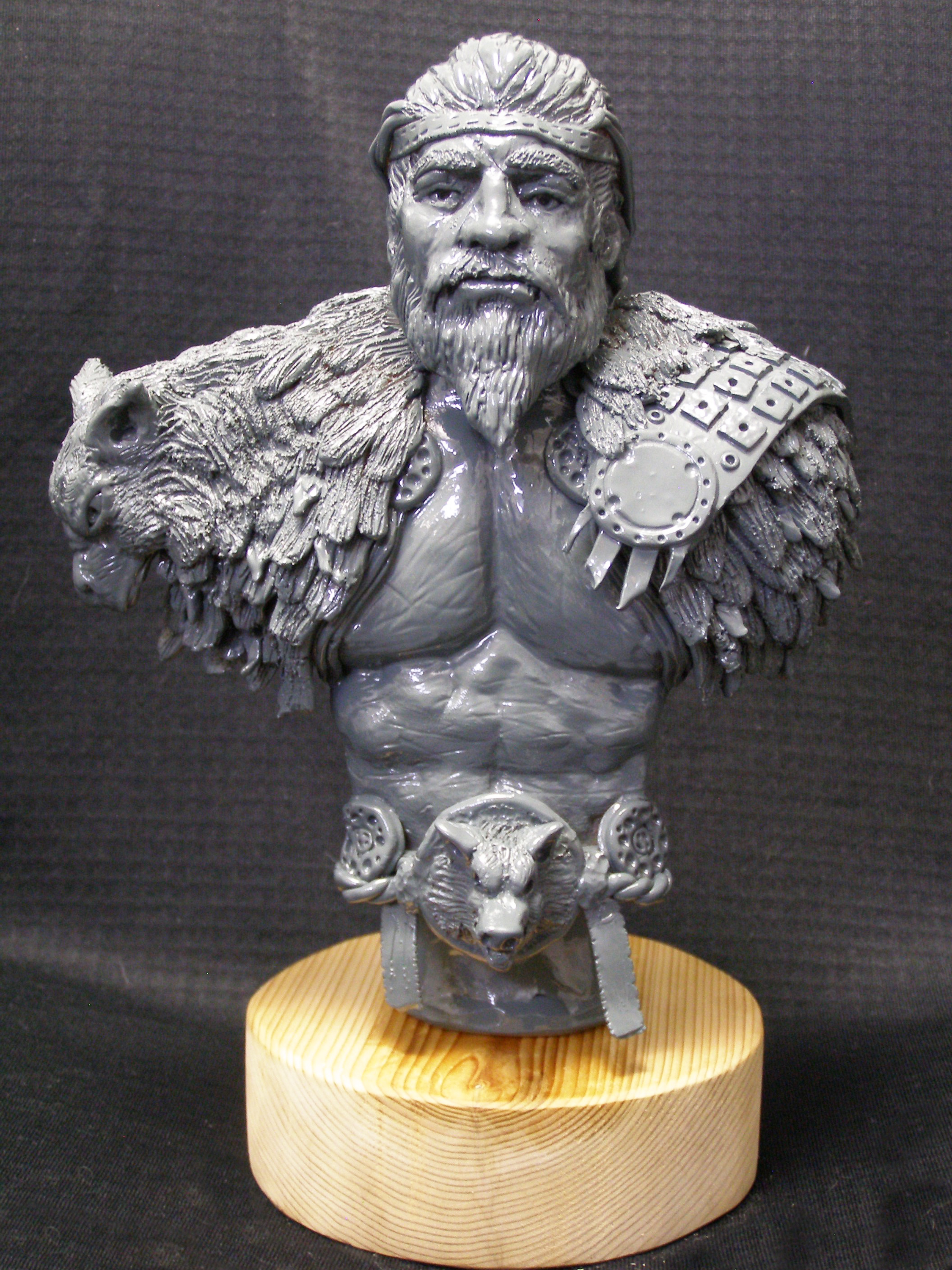 Recent bust sculpting – Providing great production value